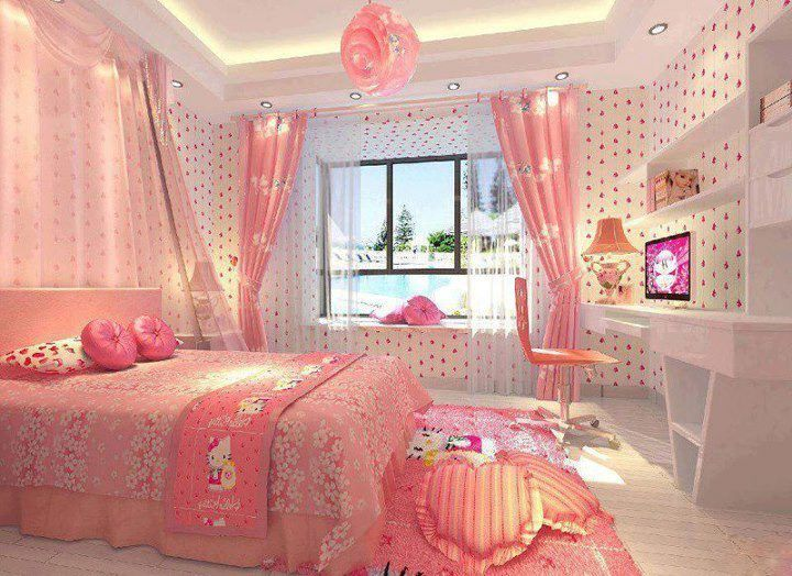 Pink Bedroom Sets For Girls best 25+ hello kitty bedroom set ideas on pinterest | hello kitty