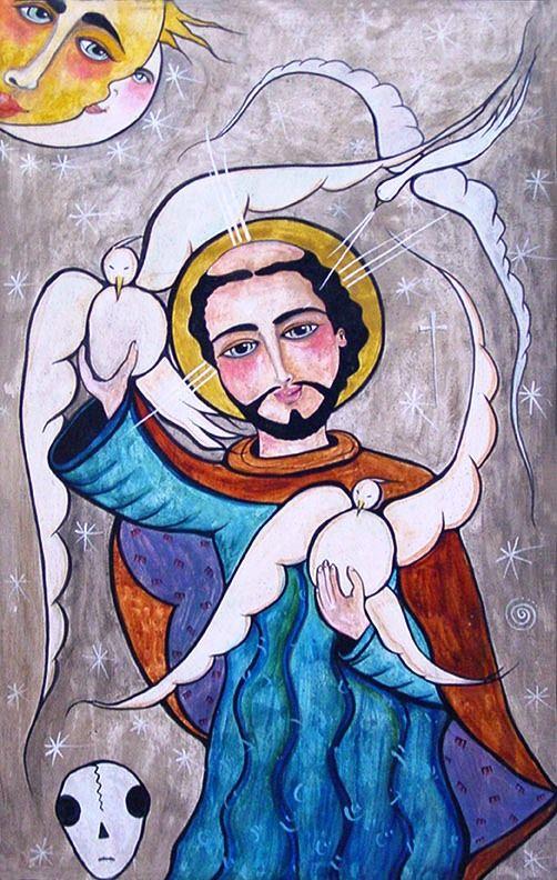 St. Francis of Assisi Retablo