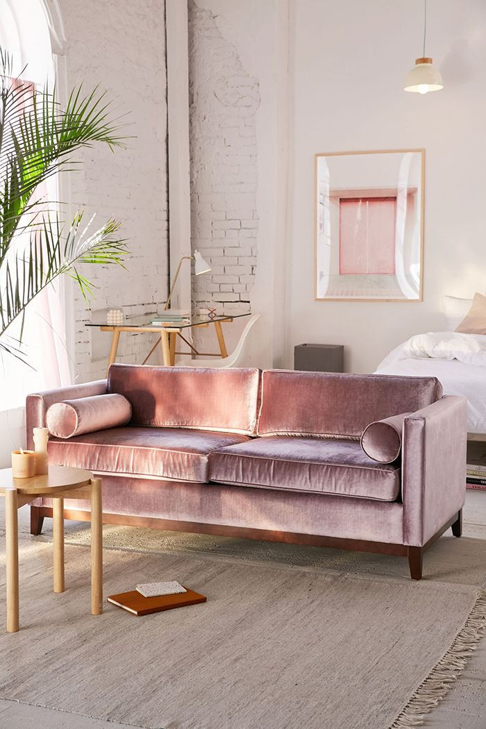 the lived in room the 25 best pink sofa ideas on pink sofa 11956
