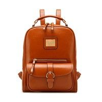 Features: 1. Material: Pu Leather. 2. Size: Wide: 25 cm, High: 34 cm. 3. Color: Brown, Black,Blue As