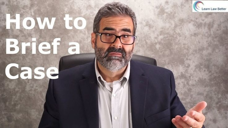 """Learn how, when, and why to brief a case in law school. This skill is important, especially during the first semester of law school, as you begin to """"think like a lawyer."""" For more law school success episodes, check out  Facebook: https://facebook.com/LearnLawBetter  YouTube: https://youtube.com/LearnLawBetter"""