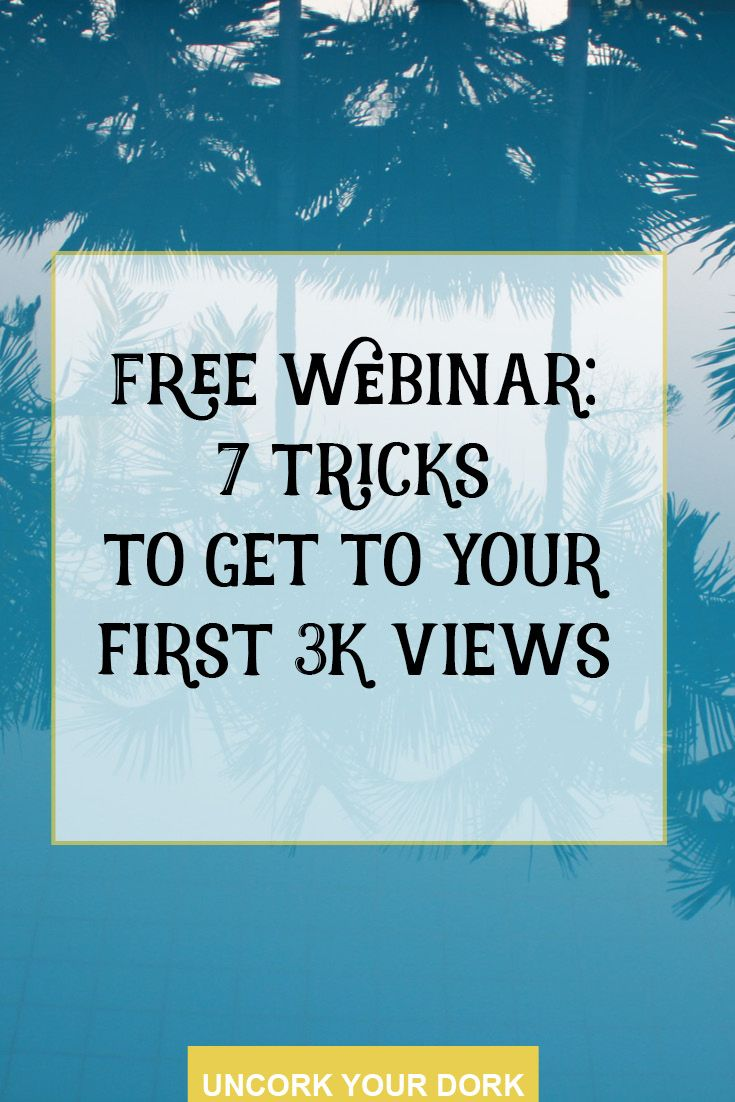 "Sign up for the free webinar ""How to Talk to Strangers: 7 Tricks to Get to Your First 3K Views""! Join us Saturday May 21st at 11am PST for 7, actionable ideas you've never even thought of to up your traffic game! Click the image to get all signed up and RSVP'd...and receive a FREE Monthly Goal Setting Worksheet that we will use in the webinar!!"