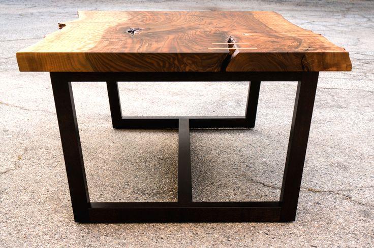 Bastogne Walnut Coffee Table - Offerman Woodshop