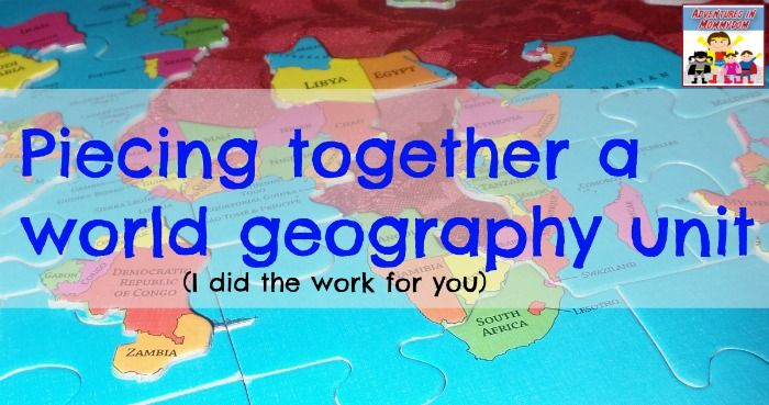 This fantastic hands on world geography unit will get your kids involved in the learning and seeing the interactions between the different countries of the world.