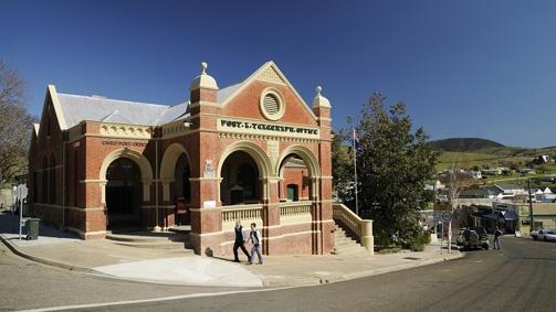 Omeo Post Office, Gippsland, Victoria, Australia