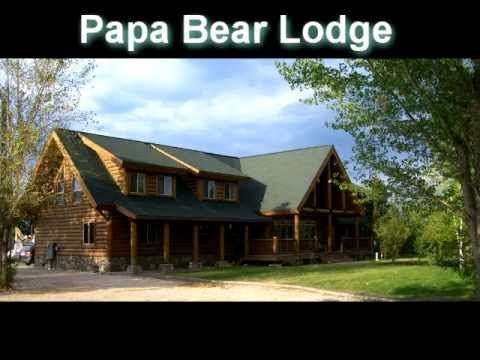 Garden City Vacation Rental - VRBO 129583 - 15 BR Bear Lake Lodge in UT, Papa Bear, Family Reunion Lodge, Sleeps 50, Walk to the Lake.  Can rent all three houses on the 1 acre property for large groups.