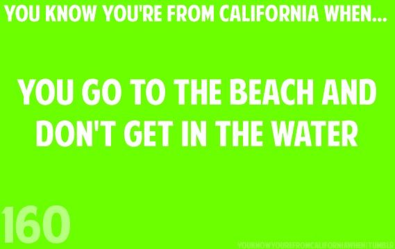 Pretty much every time I go lol. I just like seeing the beach.