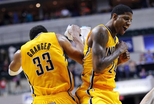 #Pacers - How can Paul George and Danny Granger thrive together for the Indiana Pacers? 03/01/2013