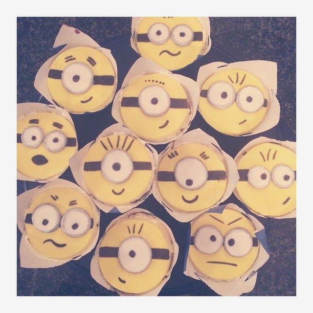 Whisked Away: Minion Cupcakes