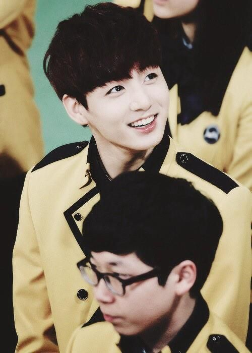 Awww. I remember how happy and nervous R jungkook was when bts came to his school  ♡