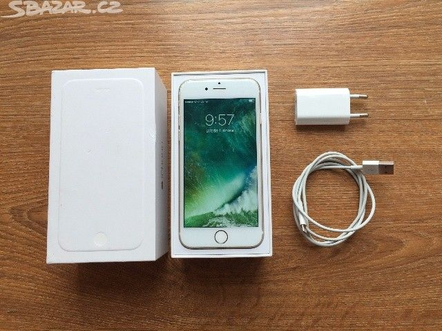 Apple iPhone 6 16GB Gold - obrázek číslo 1