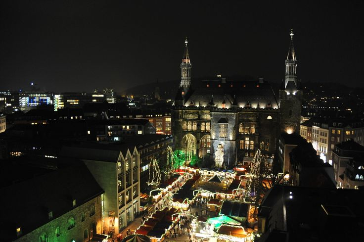 """Aachen, Germany the """"Christmas City"""".  Also known for the Aachen Carnival.  Carnival motto, """"Spass ander Greud"""" (Have fun with joy in your heart).  Also known for their cookies!"""