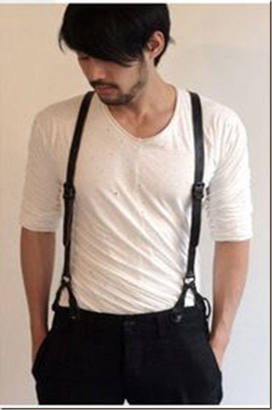 Suspensório Masculino. -  WestinMorg / Blog de Moda Masculina e Variedades