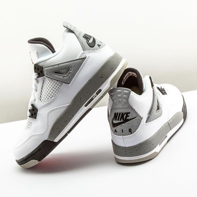 New Arrival 2015 Nike Jordan 4 Cheap sale Silver Anniversary Whi