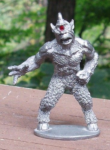 1983 Vintage Ral Partha 2 25 Cyclops Pewter Figure Statue: 17 Best Images About Miniatures On Pinterest