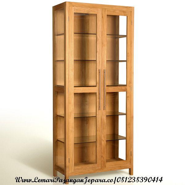 Jual Lemari Hias Ruang Tamu merupakan Produk furniture Minimalis yang menggunakan bahan kayu Jati yang berkualitas sehingga menghasilkan produk yang bernilai