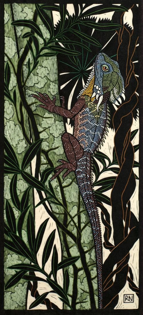 Rainforest Dragon by Rachel Newling