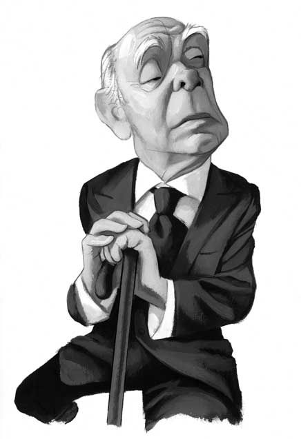 Borges by Fernando Vicente