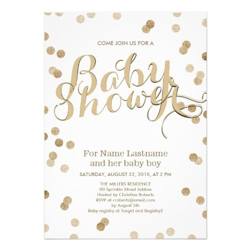 17 best images about modern baby shower invitations on pinterest, Baby shower invitations