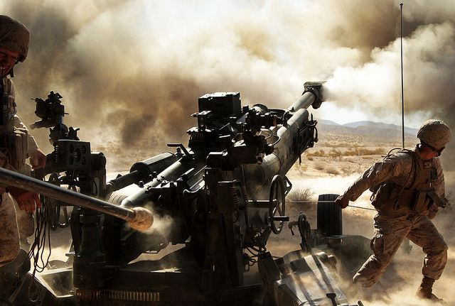 Let 'er rip! (U.S. Marine Corps photo by Cpl. Ali Azimi/Released)