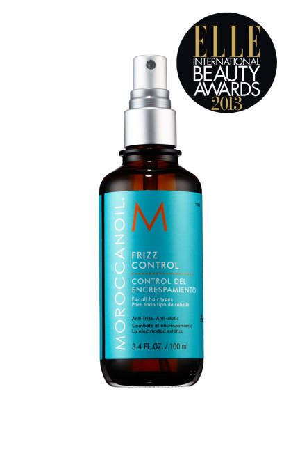 MoroccanOil Frizz Control keeps hair smooth and shiny in any weather... must try this summer.