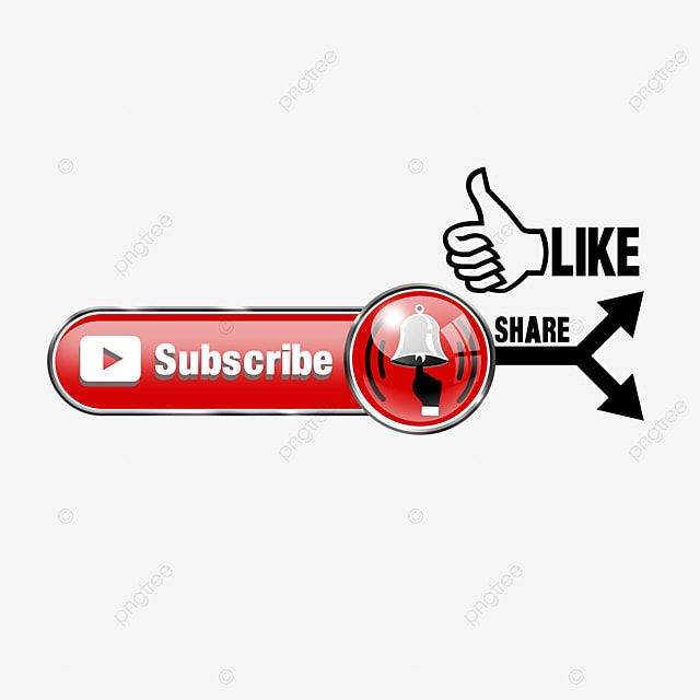 Subscribe Button And Bell Arrow Hand Social Media Png Transparent Clipart Image And Psd File For Free Download Best Editing App Bible Pictures Social Media Buttons