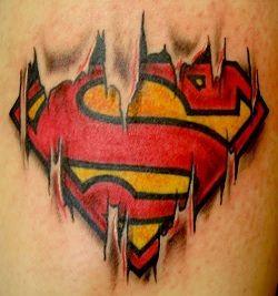 supergirl logo tattoos | Superman tattoo designs