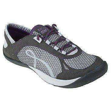 Kalso Earth Shoe Prosper Dk Grey/Purple Microfiber
