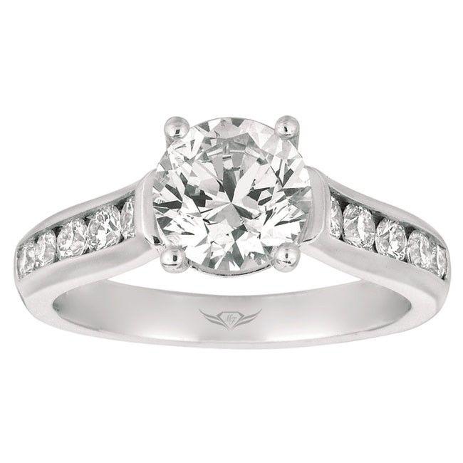 Martin Flyer Flyerfit Channel Set Engagement Ring Read More Princess WeddingThe