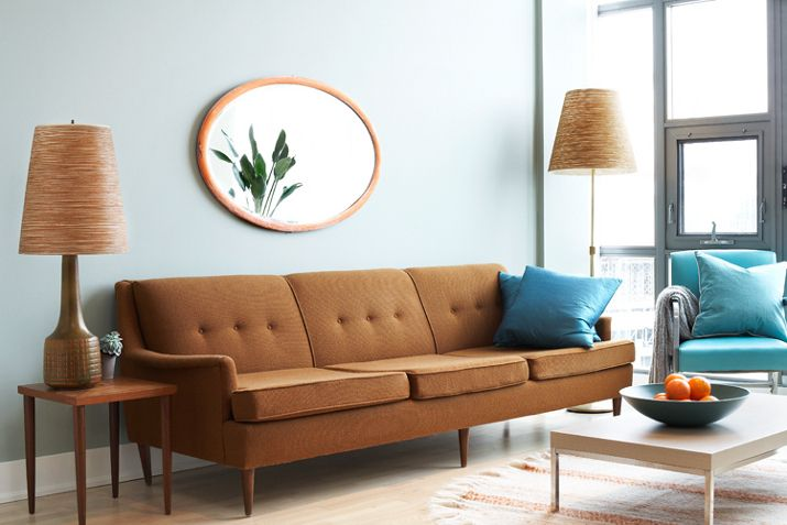 retro/modern living roomWall Colors, Living Rooms, Simple Living, Living Room Design, Livingroom, Men Style, Interiors Design, Mid Century, Modern Living Room