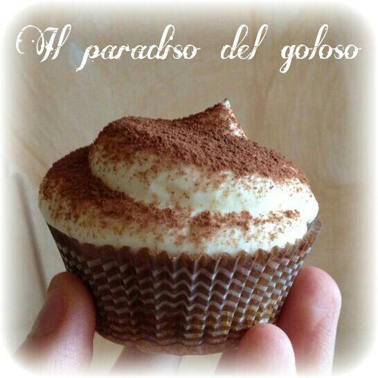 cupcake al tiramisù #CUPCAKE #halloween #solocosebuone #bakery #torte #cake #yummy #sugar art #patisserie #desserts #sweettooth #chocolate #eat #yum #delicious #tasty #hungry #yum #icecream #foodpics #TagsForLike