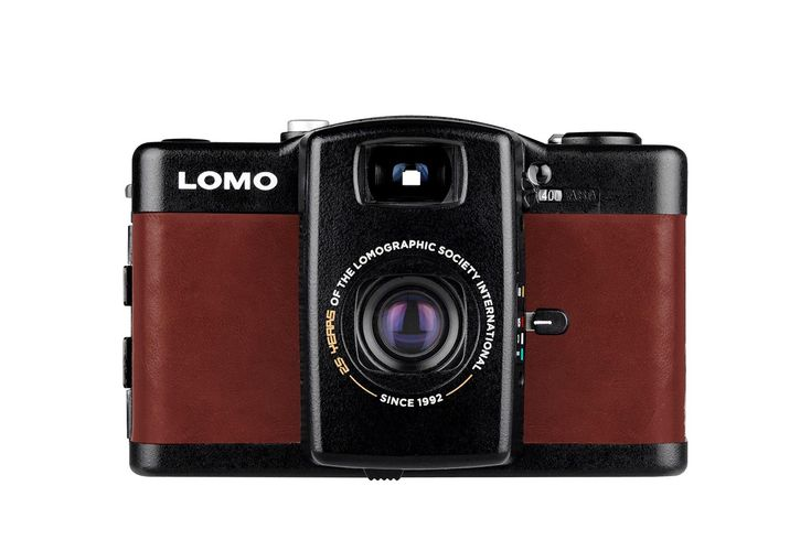 This 35mm leather-clad camera features zone-focus, auto exposure and a special, embossed anniversary message. US & Canada orders will ship 01/29