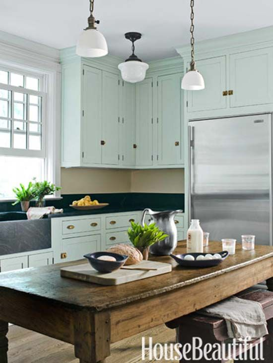 modern traditional 1900s farmhouse kitchen cabinet trim