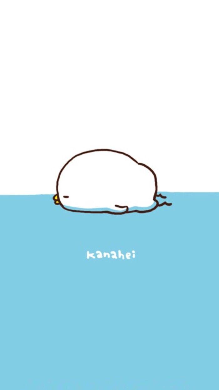 kanahei カナヘイ wallpaper墙纸 卡通兔兔【喜欢请点进专辑】勿偷圖【拜托大家千万别偷图!我找图做图好幸苦T_T拜托拜托!】蓝色墙纸