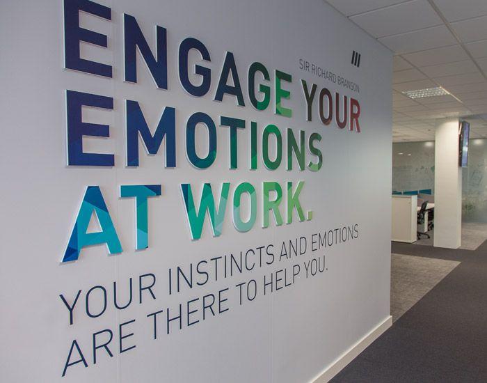 25 Best Office Wall Graphics Ideas On Pinterest Office