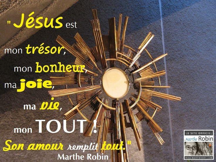 Prières de Marthe Robin - ♥  ← la 2ème 2452271aa6b47f1f0320843b16a35350--joie