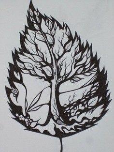 Uma folha elfica