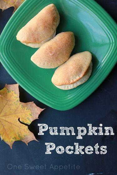 Pumpkin Pockets | Dessert | Pinterest