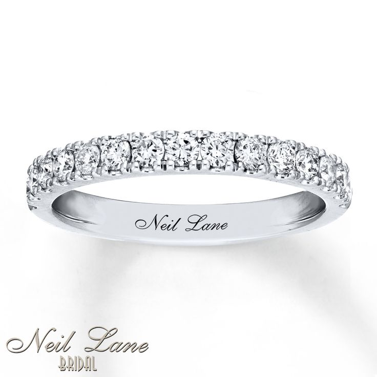 The 25 best neil lane bridal ideas on pinterest neil lane with sparkling round diamonds totaling 12 carat in weight this wedding band from neil lane bridal is a wonderful way to symbolize your commitment junglespirit Choice Image