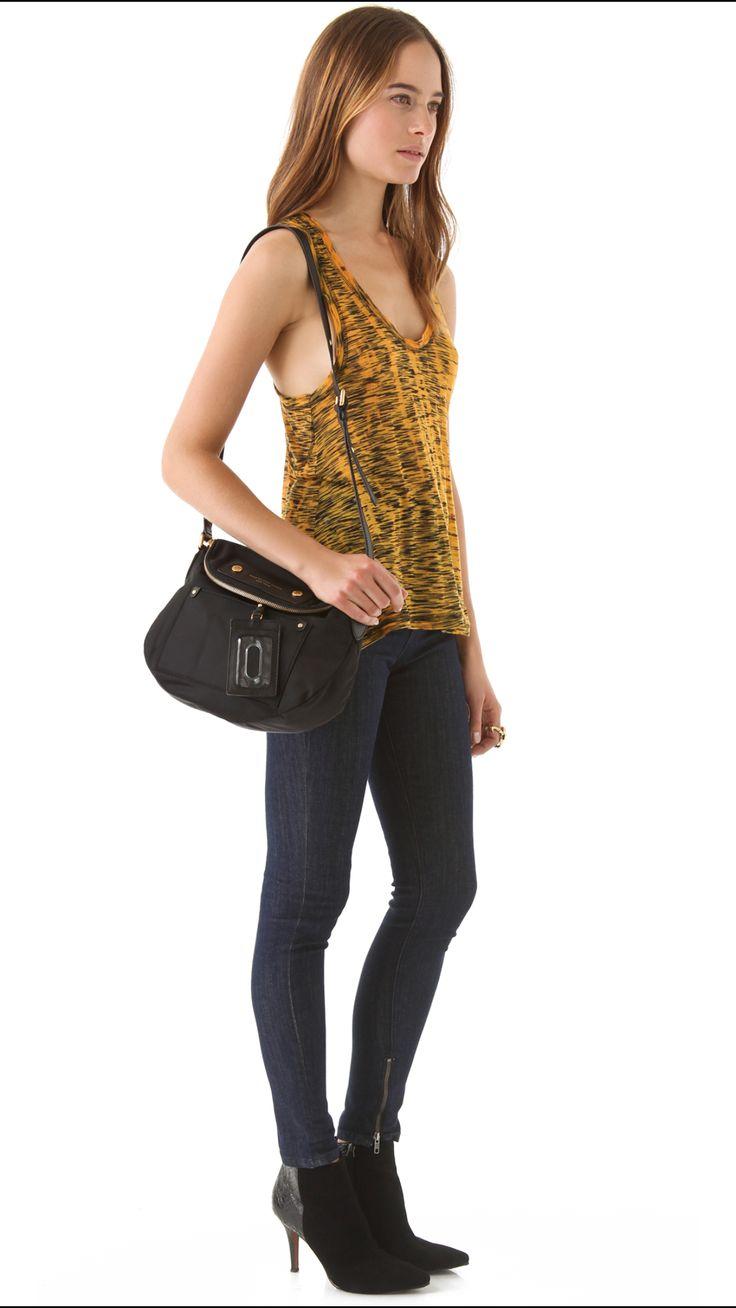 Marc by Marc Jacobs Preppy Nylon Sasha Cross Body Bag  $ 285