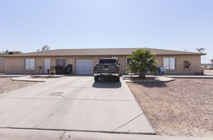 GREAT INVESTMENT PROPERTY ! This duplex has a tenant in both units and each unit has 3 bedrooms, 2 baths, and a one car garage. Built in 2002 each unit has ceramic tile flooring, carpet, ceiling fans, dual pane windows, and inside laundry. Each unit has a private yard with block fence. Located just south of the Arizona City golf course and access to I10 freeway off Sunland Gin or Battaglia for quick commutes to Phx or Tucson.
