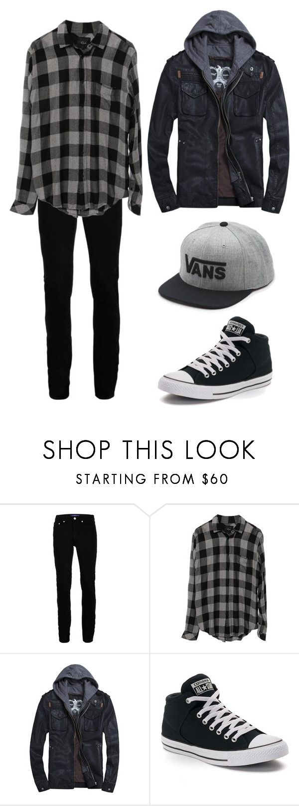 """""""Guys outfit for anon"""" by edgy-penguin33 ❤ liked on Polyvore featuring Topman, Converse, Vans, men's fashion and menswear"""