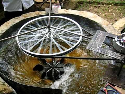 ZOTLÖTERER - worldwide first Gravitation Water Vortex Power Plant - YouTube