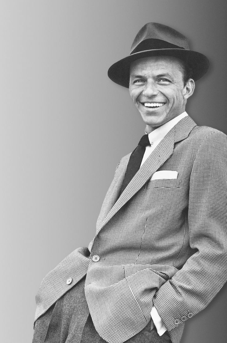 Frank Sinatra. The example of cool.