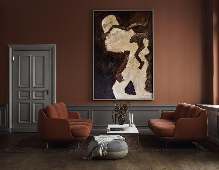 Lune™ modular sofa in the colour Gingersnap