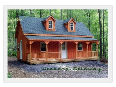 2 story sheds 14 x 28 two story shed with dormers for Two story shed house