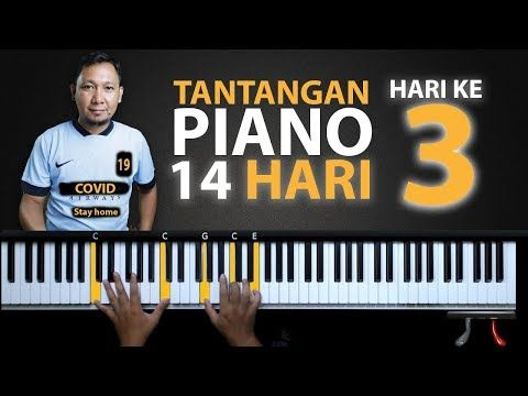Hari Ke 3 Chord Dasar Tantangan Piano 14 Hari Belajar Piano Keyboard Youtube In 2020 Piano Keyboard Pola Tangan