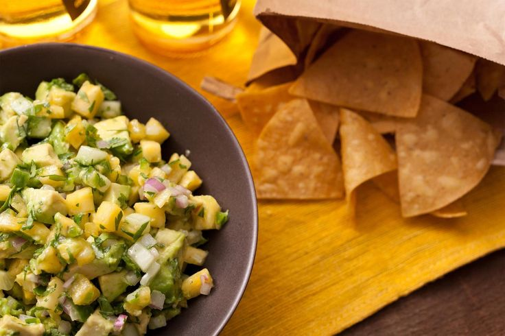 Pineapple and Cucumber Guacamole