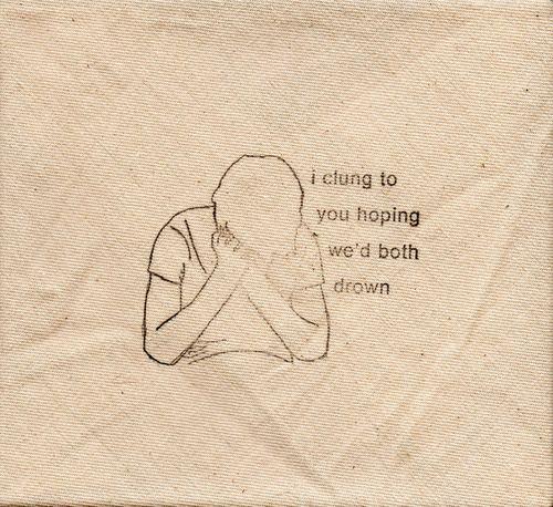Imagem de quote, drown, and sad