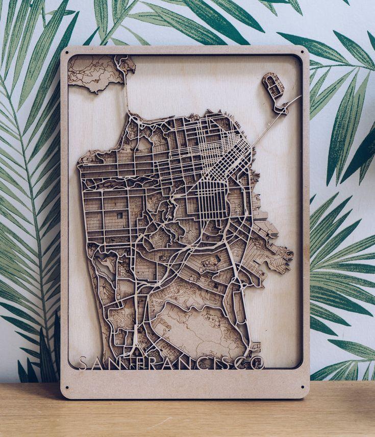 San Francisco City Map 625 best Maps